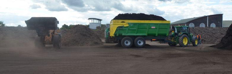 Compost pour le milieu agricole