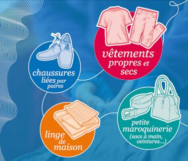 Interruption de la collecte des textiles, linges et chaussures