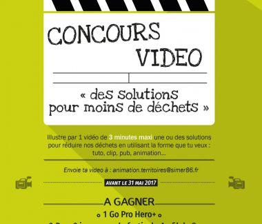 """Concours vidéo """" des solutions pour moins de déchets """""""