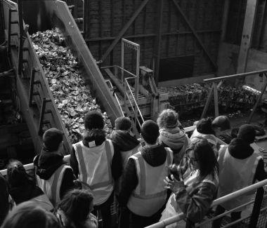 Interruption des visites du centre de tri et de la plateforme de compostage de l'Eco-Pôle